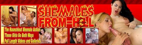 Shemales going wild with everyone!!