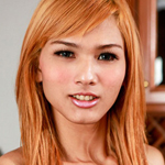 Beautiful ladyboy who was a real natural