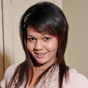 Kazumie has an interesting name for an interesting ladyboy. She's sleek and stylish, with a great bush and cock.